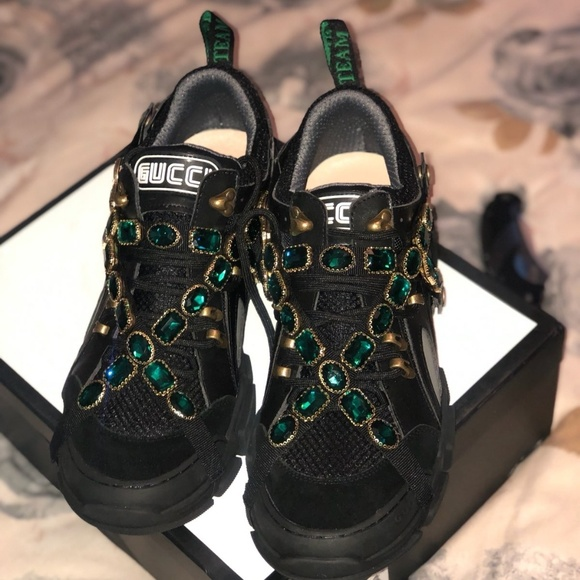 29b2aac0ae7 Gucci flashtrek sneakers
